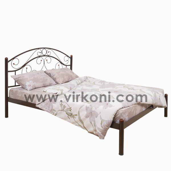 Кровать металлическая Virkoni 03